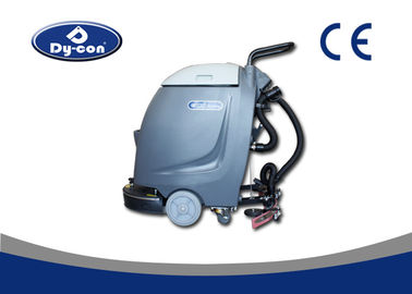 Streamlined Body Compact Floor Scrubber Machine With 750W Brush Motor Diverse Color