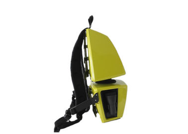 Yellow Adjustable Mini Backpack Backpack Vacuum Cleaner With ABS Plastic Body